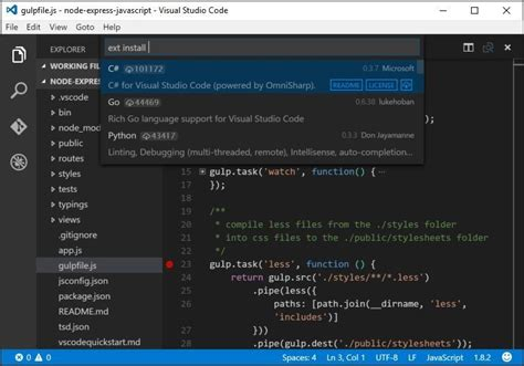 Microsoft officially launches Visual Studio Code 1