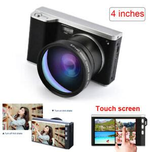 4 Inch 24 Million Pixel Micro Single Camer Cam Camcorder