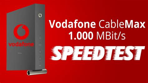 Vodafone Red Internet Phone 1000 Cable Max Gigabit Test