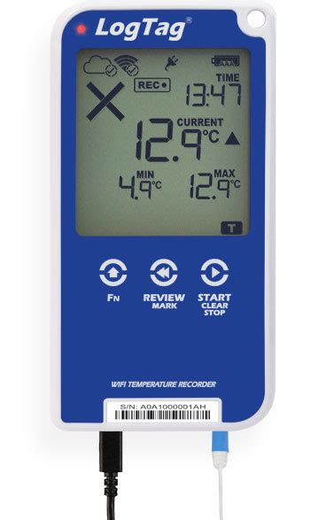 LogTag UTRED30-WIFI Data Logger with Display- Withnell Sensors