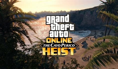 GTA Online Cayo Perico Heist Comes Out Next Week