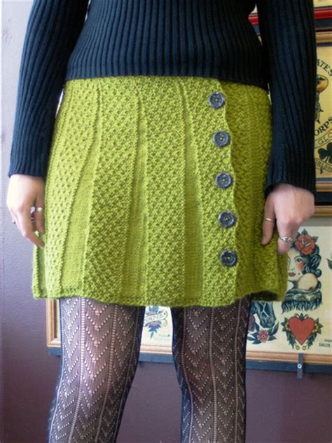Spring and Summer Skirts for women – free patterns to knit