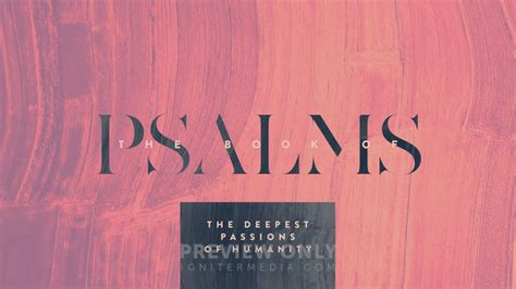 The Book Of Psalms - Title Graphics | Igniter Media