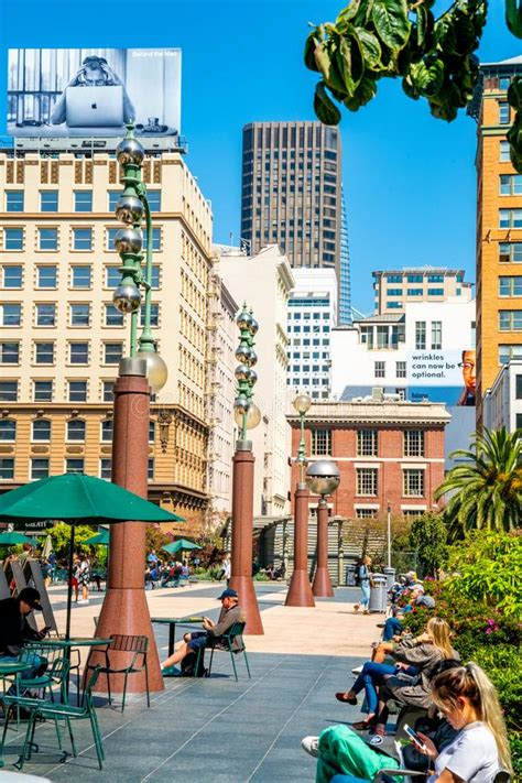 Beautiful Union Square In The Heart Of San Francisco