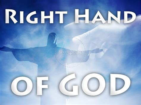 Right Hand of God | PowerPoint Sermons