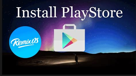 How to Install Play Store on Remix Os For PC - YouTube