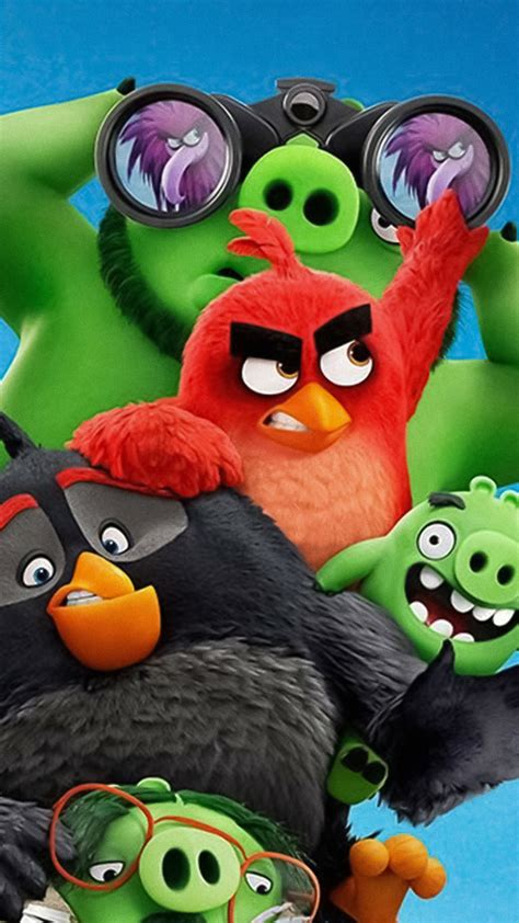 Wallpaper The Angry Birds Movie 2, poster, 4K, Movies #21807