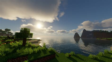 Sun Above Sea HD Minecraft Wallpapers | HD Wallpapers | ID
