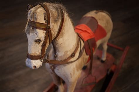 100-year-old toys on display at Dino Parc in Romania