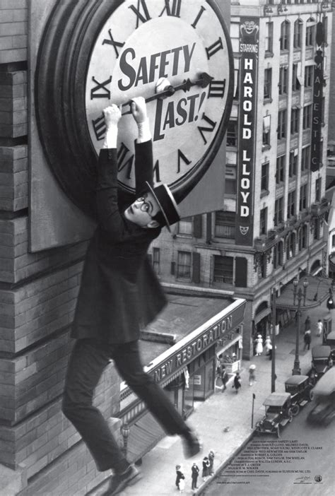 Harold Lloyd Classic 'Safety Last!' Gets Trailer & Poster