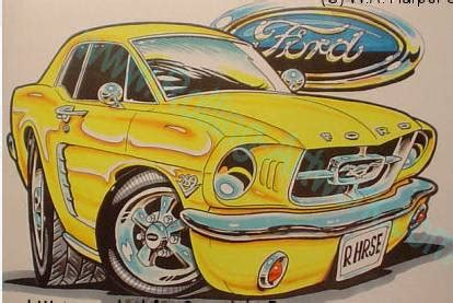 Ford Car Art - Ford Muscle Forums : Ford Muscle Cars Tech