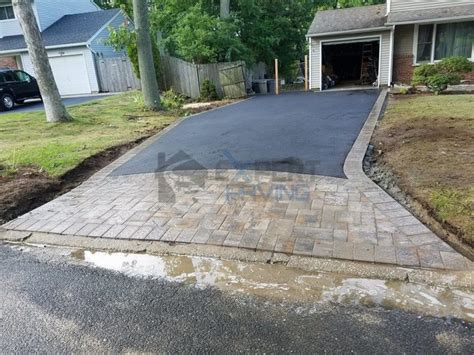 Interlock Paved Aprons On Driveways - Expert Paving and