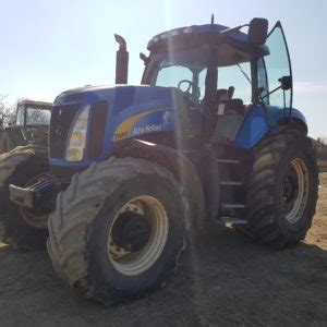 Tractor agricol New Holland T8050 an 2008 - Afaceri in
