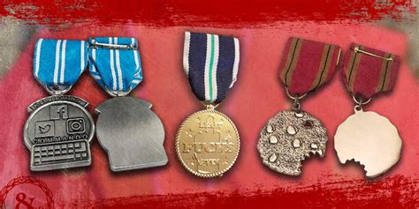 Military awards and medals for your inner blue falcon
