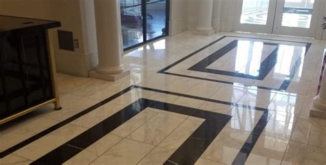 Commercial Marble Flooring: Our Work | Spectra Contract