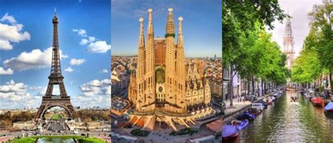 Toronto to Paris, and then Barcelona (or Italy, or Croatia