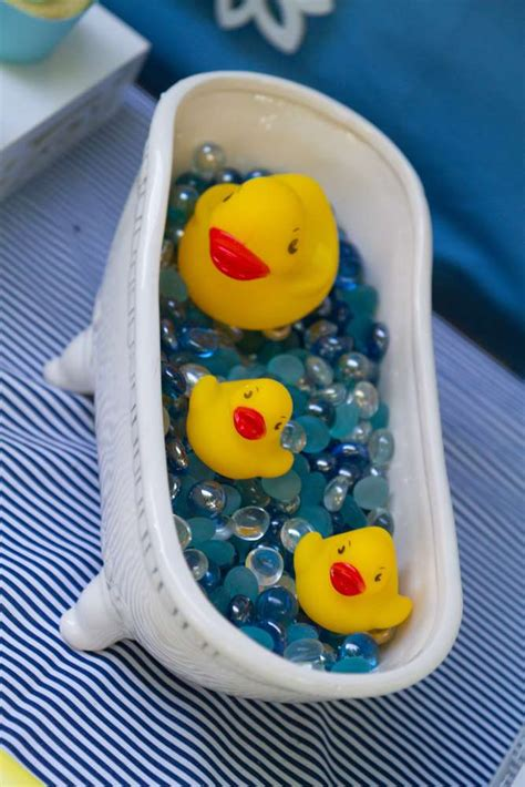 Sweet Rubber Ducky Shower - Baby Shower Ideas - Themes - Games